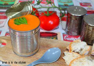 Velouté de Tomates Mozzarella et Basilic