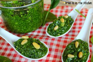 Pesto d'Epinards