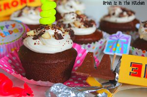 &quot&#x3B;Birthday&quot&#x3B; Cupcakes au Toblerone [1an]