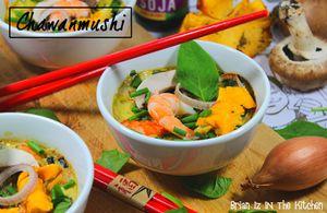 Chawanmushi (Flan Japonais) d'Automne Crevettes &amp&#x3B; Girolles