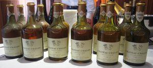 Le vin de château chalon...