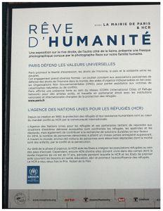 RÊVE D'HUMANITÉ... à Paris par Reza