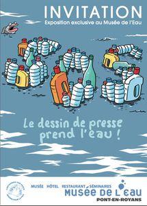 Exposition &quot&#x3B;Le dessin de presse prend l'eau&quot&#x3B;, Musée de l'Eau à Pont-en-Royans