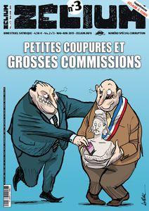 Zélium n°3, spécial &quot&#x3B;corruption&quot&#x3B; est en kiosques