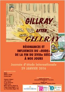 GILLRAY AFTER GILLRAY : RÉSONANCES ET INFLUENCES DU « RUDE » DE LA FIN DU XVIIIe SIÈCLE À NOS JOURS