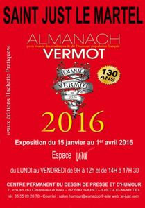 130 ans d'Almanach Vermot : exposition à St Just le Martel
