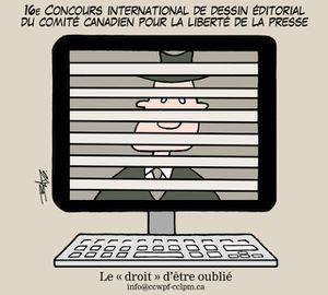 16e Concours international de dessin pour la liberté de la presse (règlements)