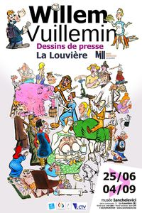 Willem / Vuillemin, dessins de presse : exposition