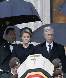 La regina Mathilde e il re Philippe del Belgio