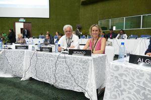 134ème assemblée de l'Union Interparlementaire qui s'est tenue à Lusaka, en Zambie du 18 au 23 mars 2016.
