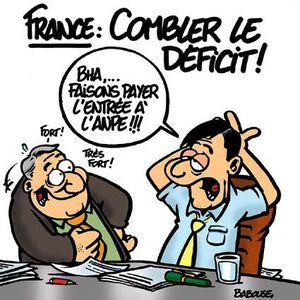 Un déficit de l'Etat inquiétant !