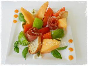 Salade d'été façon &quot&#x3B;Le Gasquet&quot&#x3B;