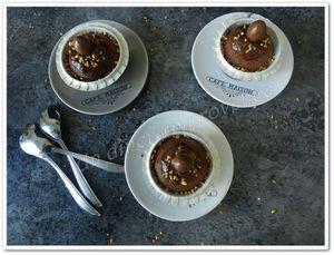 Cupcakes ganache aux Kinder Schoko-Bons