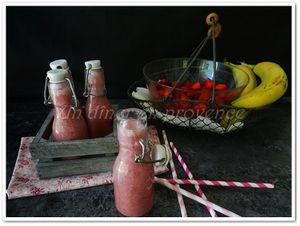 Smoothie fraises / bananes