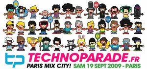 Technoparade Paris Mix City 2009