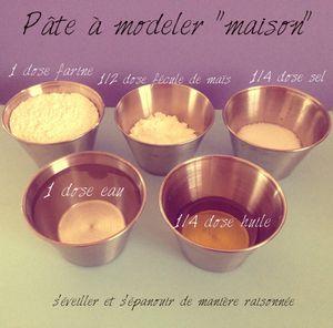 DIY Fabriquons… de la pâte à modeler maison (et comestible !) !!!