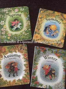 4 albums pour célébrer les saisons (Gerda Muller)