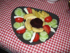 Une Assiette colorée