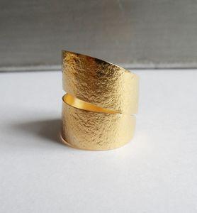 Bagues dorées tous styles