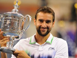 Cilic et la coupe de L'US Open