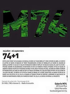 AFFICHE EXPO M74