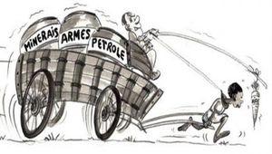 Mensonges ordinaire du néo-colonialisme en france-afrique.