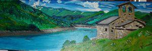 lac de Roselendt (haute Savoie)