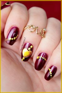 Apple of my eye(color club)..Un bijou pour ongles