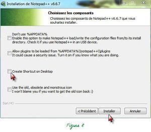 Demandez à Notepad++ de concevoir vos Sites Web (3/350):  Installation