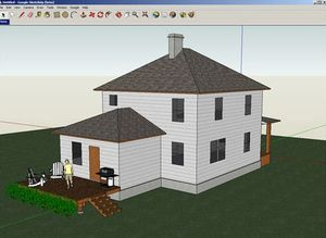 Google Sketchup: Initiation