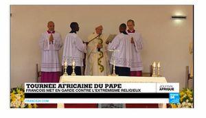 Le pape François en Afrique