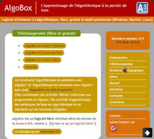 Installation de l'AlgoBox #1 (Figure 2)