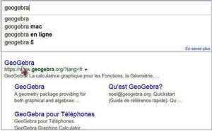 GeoGebra - Téléchargement