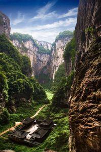 Wulong Sichuan, China
