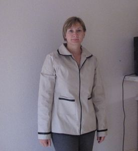 Une nouvelle veste...