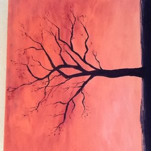 Un arbre en hiver...
