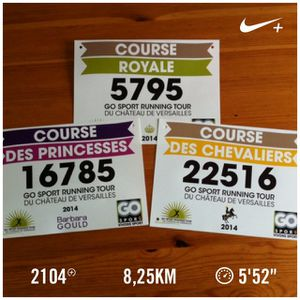La course des princesses: CR