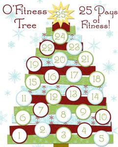Fit advent calendar