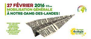 27 février 2016 - Mobilisation générale à Notre Dame des Landes