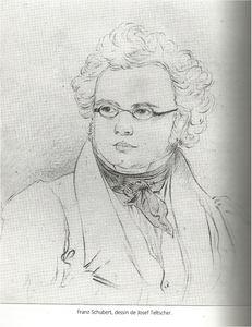 Schubert, par Josef Teltscher