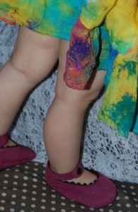 Chaussons, pour petite fille!