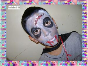 Maquillage zombie :