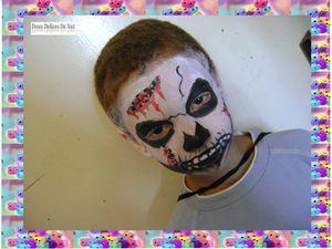 Maquillage zombie :