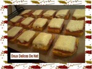 Ma recette de polenza au jambon et à la raclette :