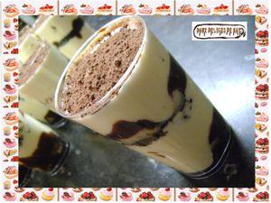 Verrines de tiramisu banane - oréos :