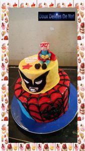 Gâteau super héros :