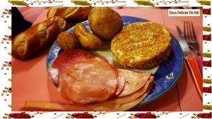 Camembert au barbecue :