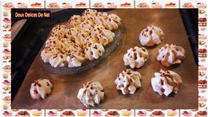 Petites meringues au caramel :