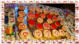 Cupcakes d'amour :