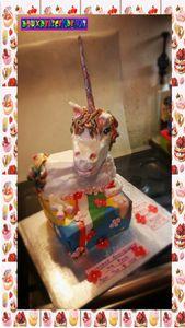 Gâteau licorne :